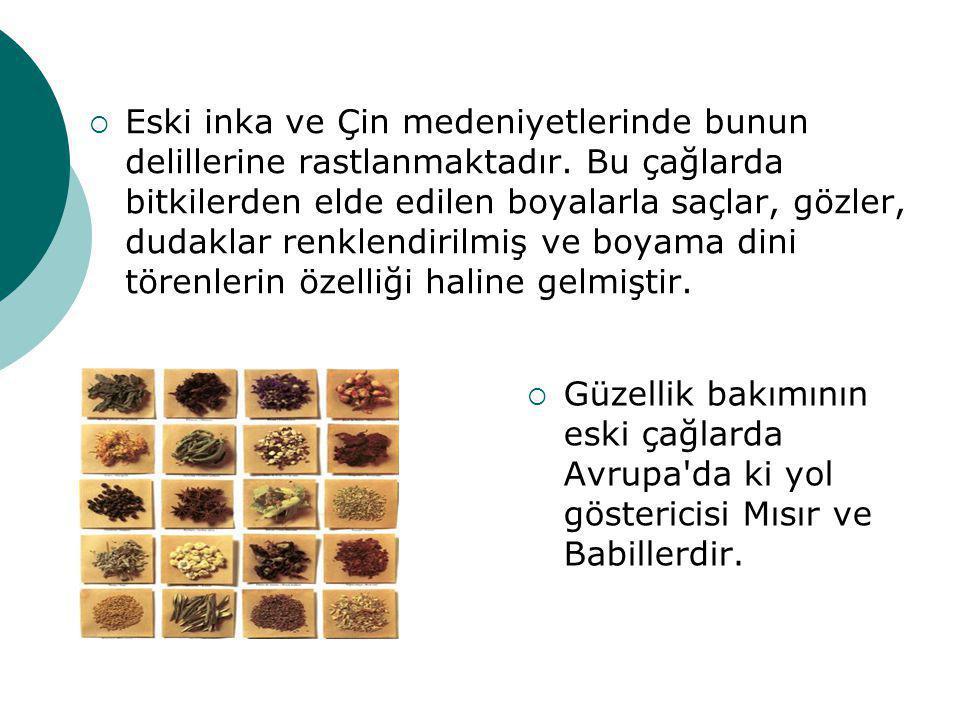 2-) SENTETİK ÜRÜNLER  Bu ürünlerin kimi doğal ürünlerden fiziksel yolla özütlenir.