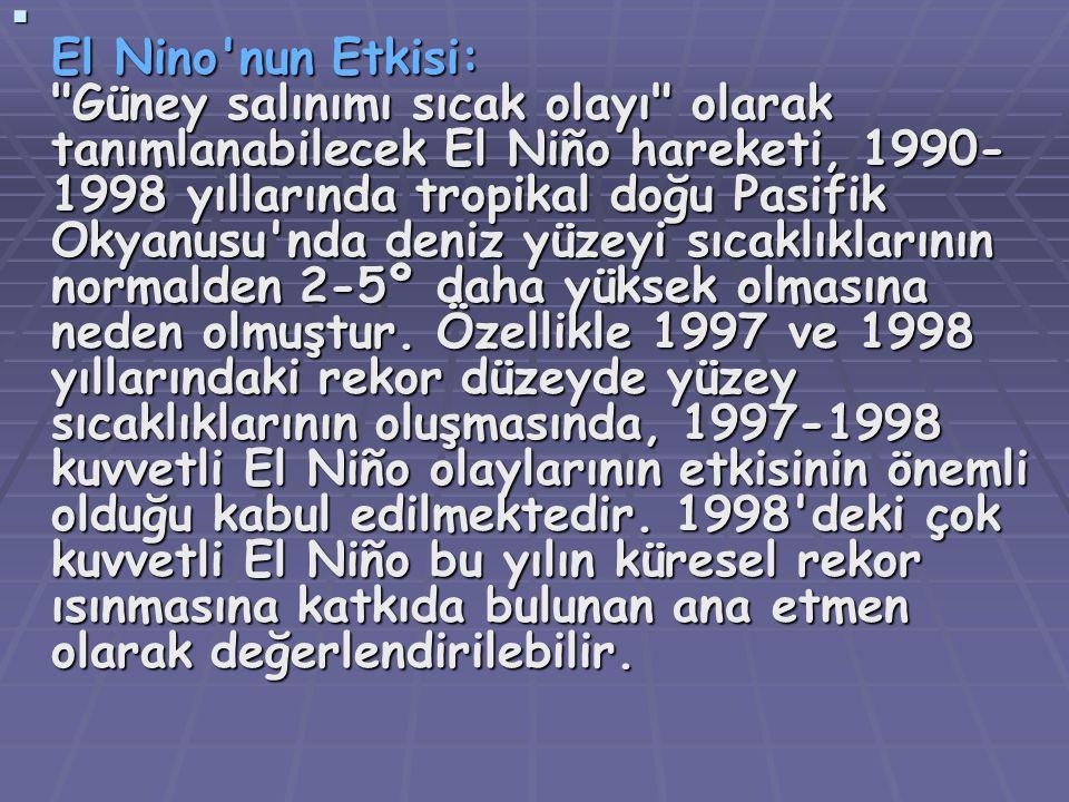 EEEE l Nino'nun Etkisi: