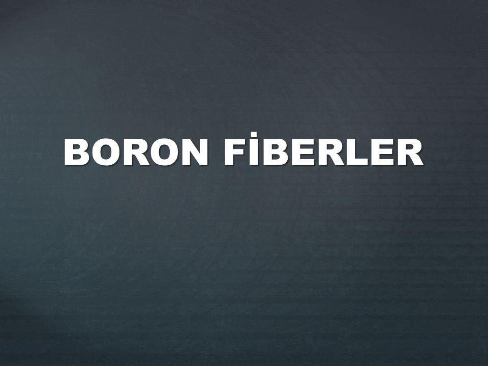 BORON FİBERLER