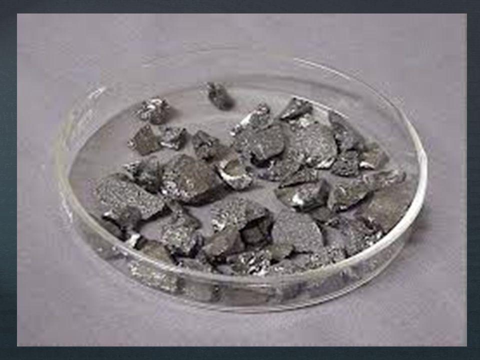 Elementin üç yapı de ğ i ş imi mecvuttur ; Sıcaklık 800 – 1100°C ise, α- rombohedral Sıcaklık 1250°C ise, β- rombohedral Sıcaklık 1300°C ise, tetragonal formları olu ş ur.