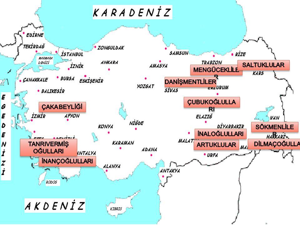 MALAZGİRT SAVAŞI SONRASI ANADOLU'DA KURULAN BEYLİKLER Türkler'e Göre Anadolu'nun Durumu Türkler'in fethinden önce Anadolu, yıllarca devam eden Sasani- Bizans savaşları yüzünden harabeye dönüştü.
