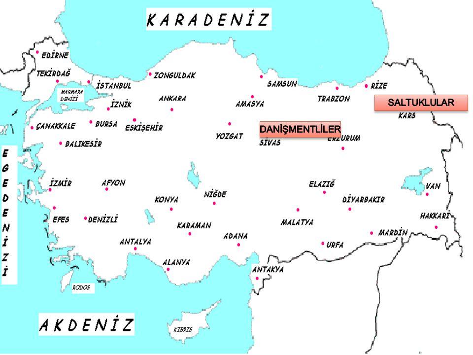 SALTUKLULAR Büyük Selçuklu Devleti komutanlarından Ebulkasım Saltuk tarafından Erzurum ve çevresinde kuruldu.