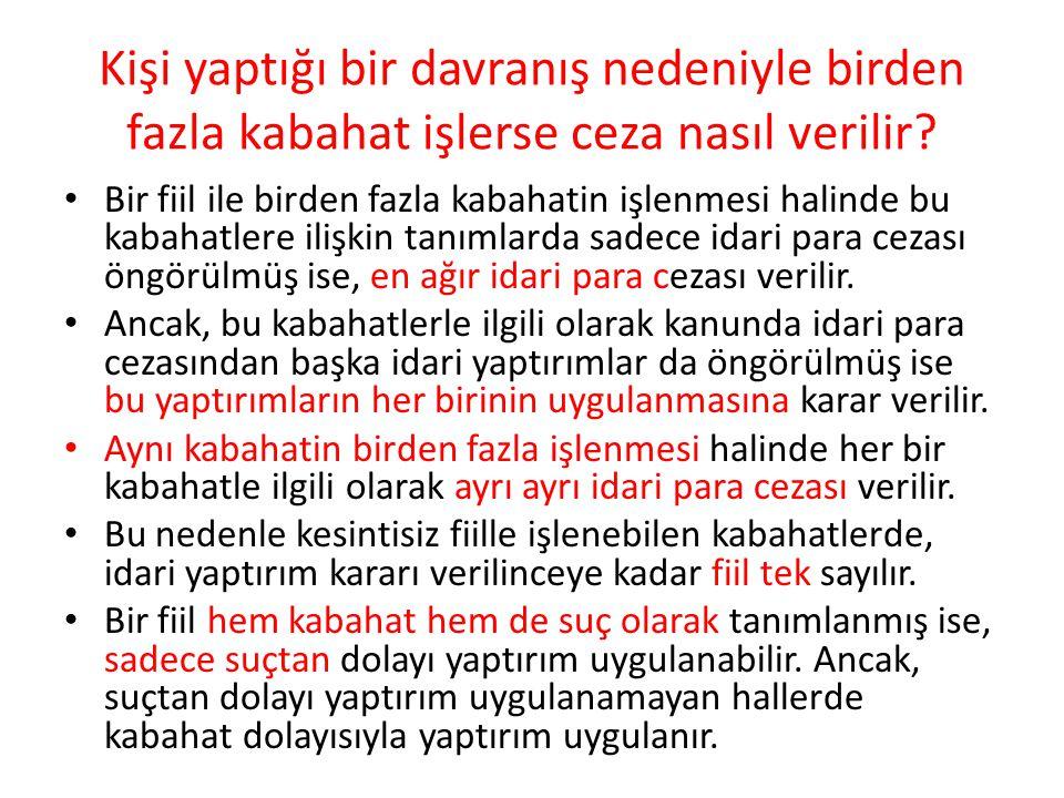 (3) Hayvan kesimine tahsis edilen yerler dışında hayvan kesen veya kesilen hayvan atıklarını sokağa veya kamuya ait sair bir alana bırakan kişiye, elli Türk Lirası idarî para cezası verilir.