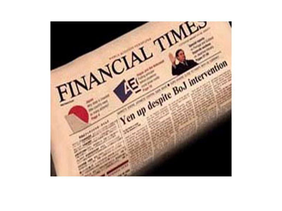 Financial Times İtibar Kriterleri Dünyada en çok saygı duyulan şirket olmak Kendi sektöründe en çok saygı duyulan şirket Hissedarlarına en yüksek değeri sağlayan En yaratıcı/yenilikçi ürün ve hizmetleri sunan En etkili kurumsal yönetişim yapan şirket En yüksek sosyal sorumluluk duyarlılığına sahip