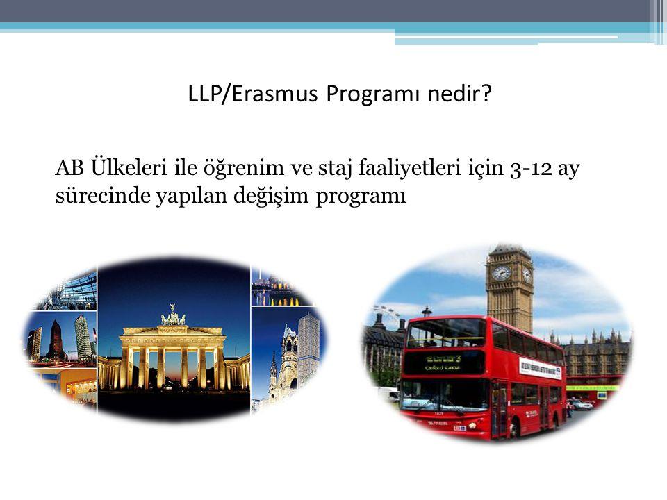 LLP/Erasmus Programı nedir.