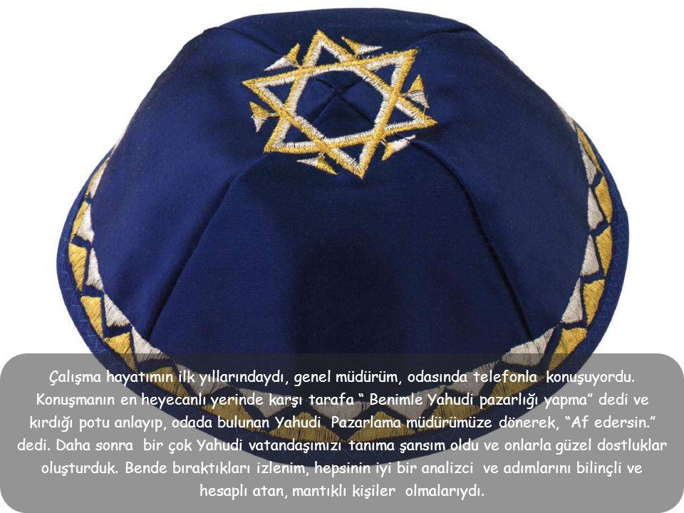 Bugün A.B.D.'ni ve Dünyayı Yahudiler yönetiyor dersek ve başarılı bir şöhret olmakla, Yahudi olmak arasında kuvvetli bir korelasyon olduğunu söylersek abartmış sayılmayız.