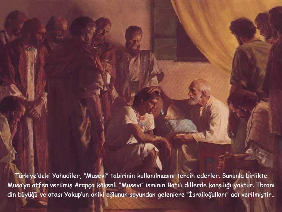 Türkiye'deki Yahudiler, Musevi tabirinin kullanılmasını tercih ederler.