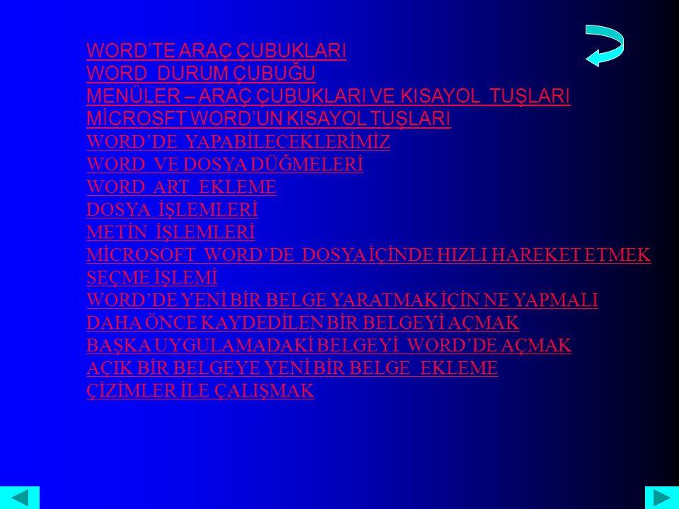 HTML OLARAK KAYDET Bazı word özellikleri HTML ( bir belgeyi world wibe web 'de yayınlanabilecek şekilde biçimleyen veya yönlendiren sistemdir.