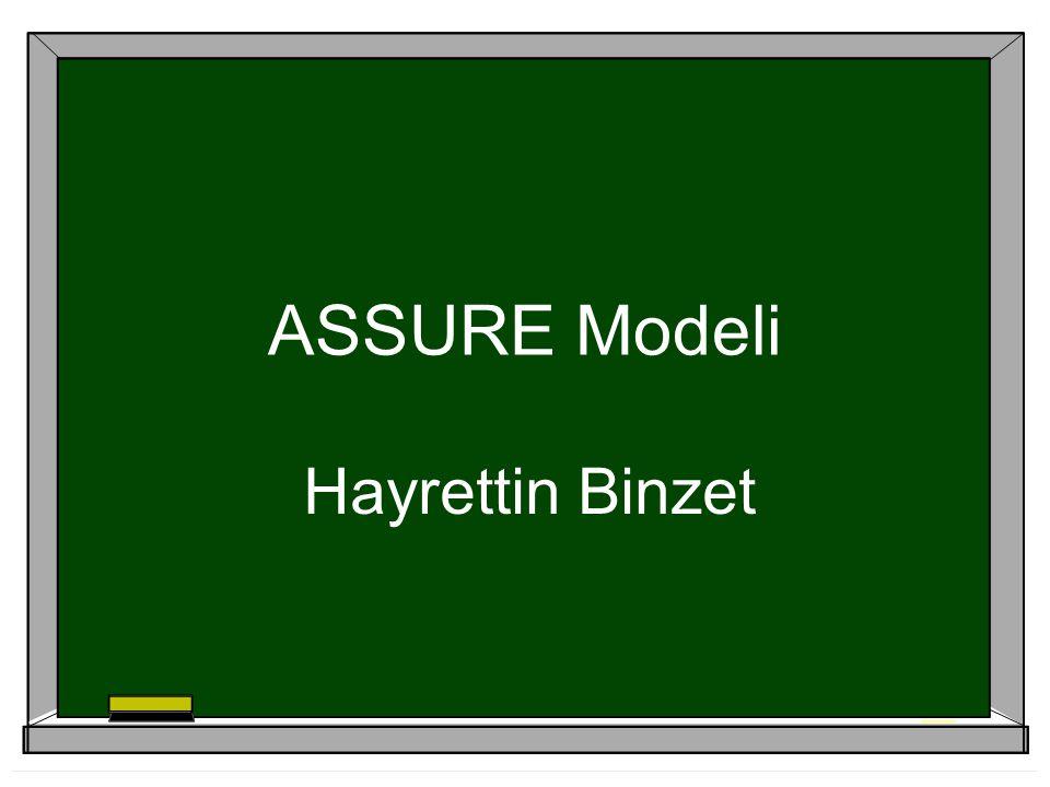 Hedeflerin ABCD'si  Audince (Topluluk)  Behavior (Davranış)  Conditions (Şartlar)  Degree (Derece/Seviye)