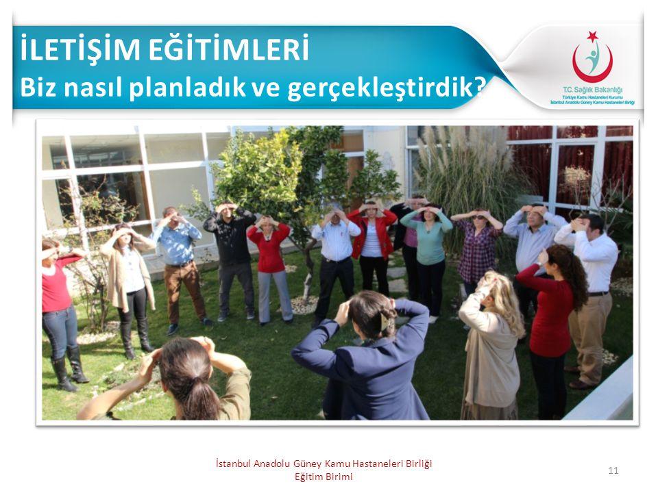11 İstanbul Anadolu Güney Kamu Hastaneleri Birliği Eğitim Birimi
