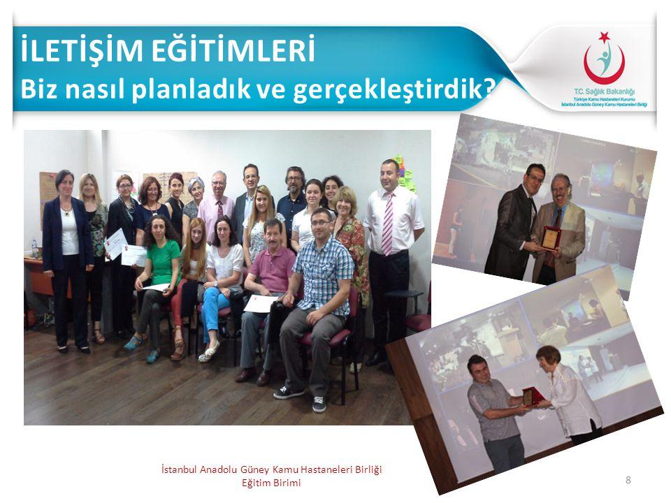 8 İstanbul Anadolu Güney Kamu Hastaneleri Birliği Eğitim Birimi