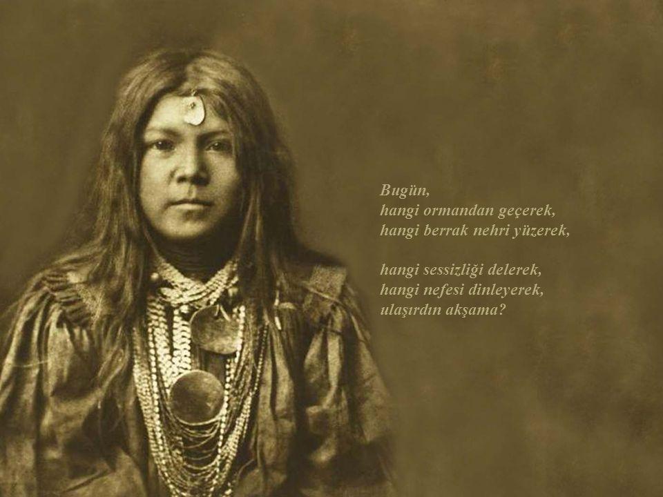 Kızılderililer varsaydı Vahşi Doğu'ya.