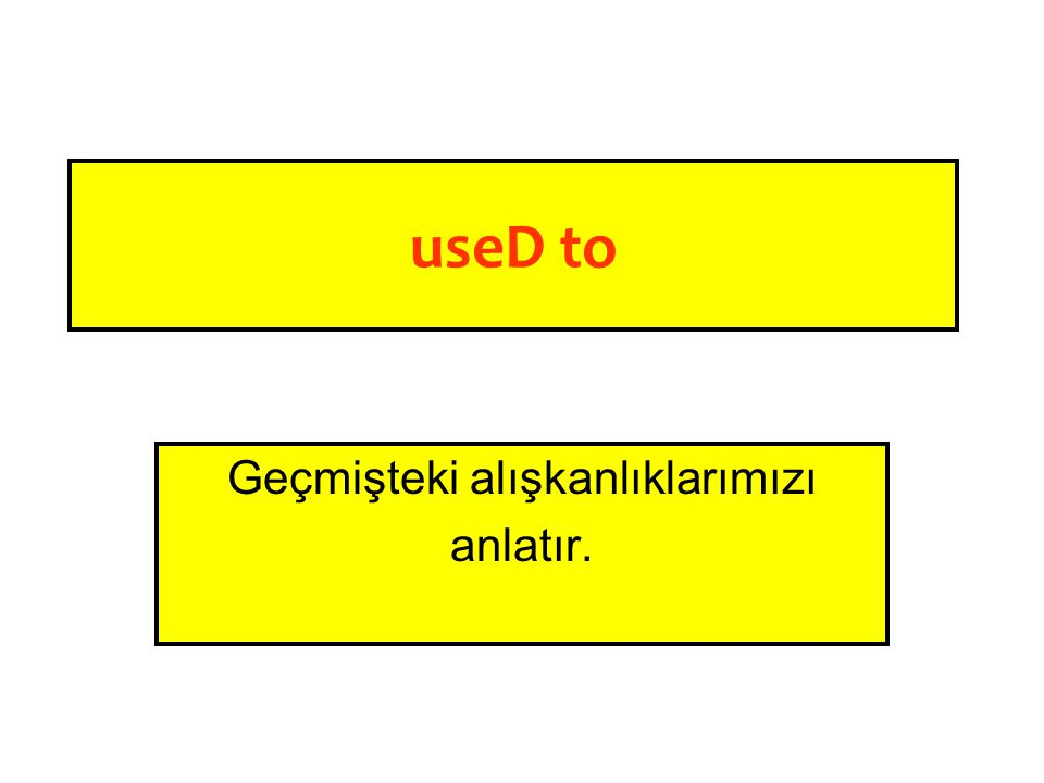useD to run: useD to swim: useD to play: useD to read: useD to listen: koşarDI yüzerDİ oynarDI okurDU dinlerDİ