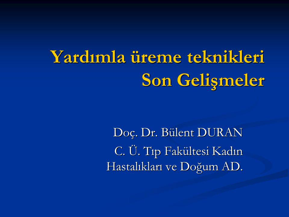 FDA kuralları Advances to date developed without government funding, using traditional IRB / informed consent process Advances to date developed without government funding, using traditional IRB / informed consent process In past year, FDA has asserted authority over ART procedures, and has prohibited: In past year, FDA has asserted authority over ART procedures, and has prohibited: Cytoplasmic Transfer Cytoplasmic Transfer Nuclear Transfer Nuclear Transfer Embryo Co-Culture Embryo Co-Culture Consequences unpredictable, but now have serious federal regulations without serious (?any) federal support Consequences unpredictable, but now have serious federal regulations without serious (?any) federal support
