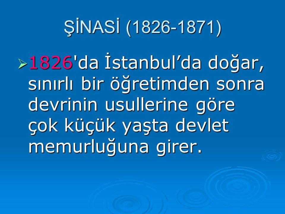 1111826'da İstanbul'da doğar, sınırlı bir öğretimden sonra devrinin usullerine göre çok küçük yaşta devlet memurluğuna girer.