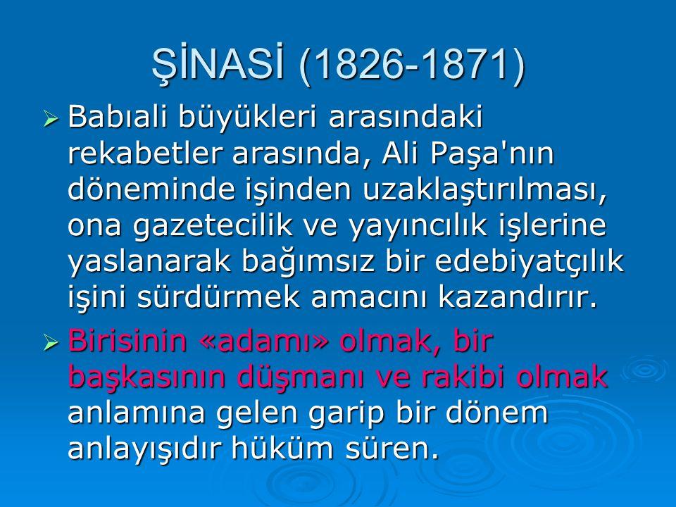 İİİİmtiyazını Agâh Efendi nin aldığı Tercüman-ı Ahval (ilk sayı 22 ekim 1860.