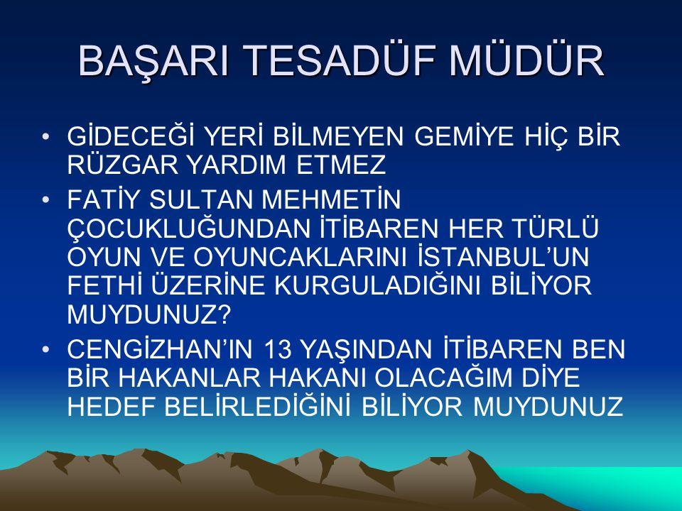 BİREYSEL KARİYER YÖNETİM SÜRECİNİN AŞAMALARI 1 2.