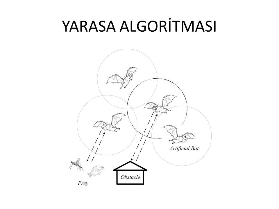 Yarasa algoritması 2010 yılında Xin-O Yang tarafından geliştirilen bir Sezgisel optimizasyon algoritmasıdır.