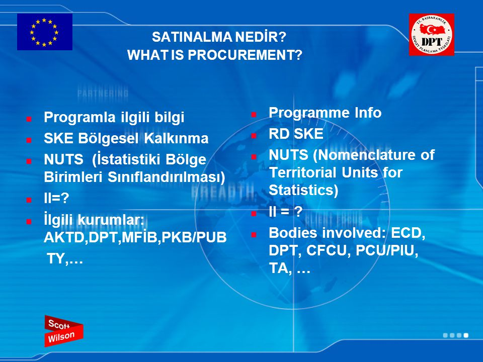 SATINALMA NEDİR. WHAT IS PROCUREMENT.