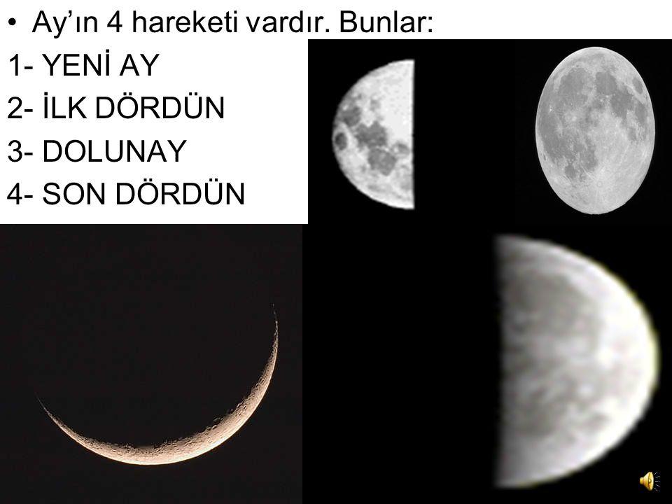 Genellikle Ay'ın karanlık yüzü' diye kullanılan deyiş şekli yanlıştır. Doğrusunun 'ayın arka yüzü' olması gerekir. Ayın dünyamız etrafındaki dönüş sür