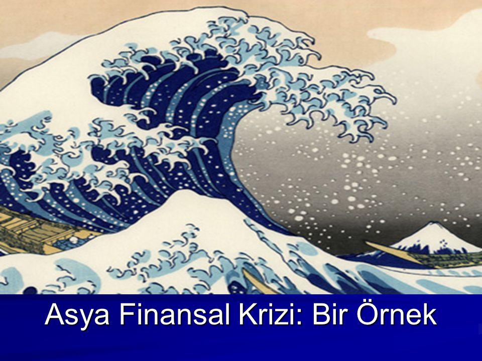 Asya Finansal Krizi: Bir Örnek