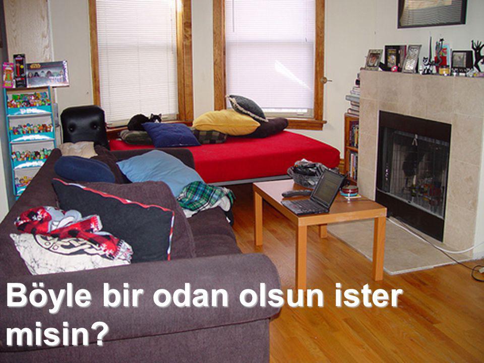 Böyle bir odan olsun ister misin?