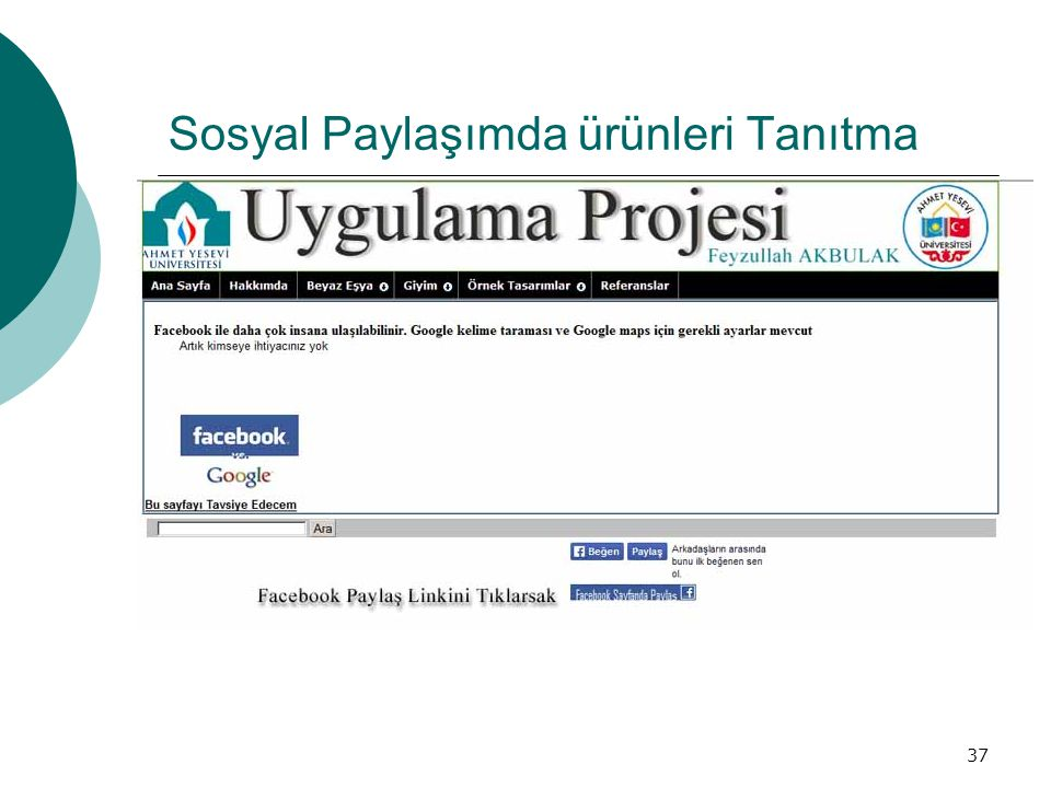 Sosyal Paylaşımda ürünleri Tanıtma 37