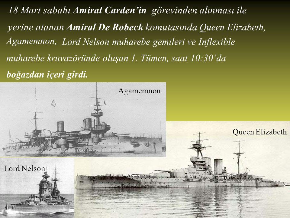 18 Mart 1915 En güçlü saldırı…