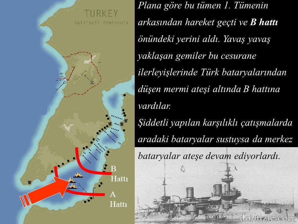 Saat 12.00 sularında Çimenlik, Rumeli Hamidiye ve Anadolu Hamidiye ateş almıştı.