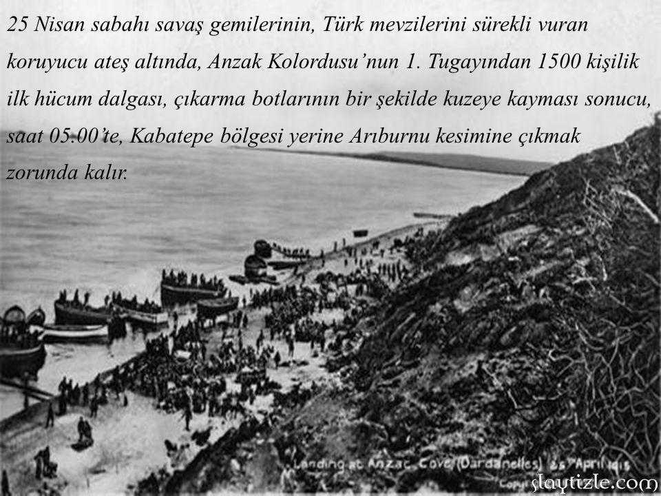 Aynı tarihte, Gelibolu'daki Türk kuvvetleri ise, 3 üncü ve 16 ıncı Kolorduların yanısıra 6 tümen, süvari tugayı ve bağımsız taburlardan oluşuyordu.
