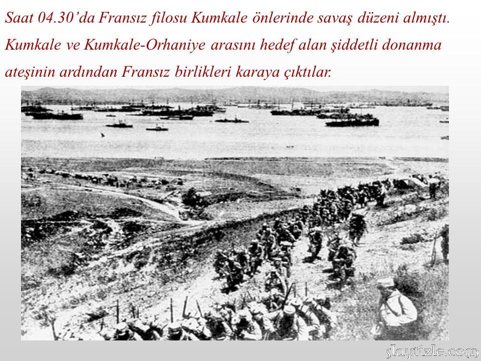 Ancak Türk mevzilerinin gerçek ötesi direnişi İngiliz güçlerinin büyük kayıplar vermesine neden olmuş, işgal kuvvetlerinde bu durum büyük şaşkınlıkla karşılanmıştır.