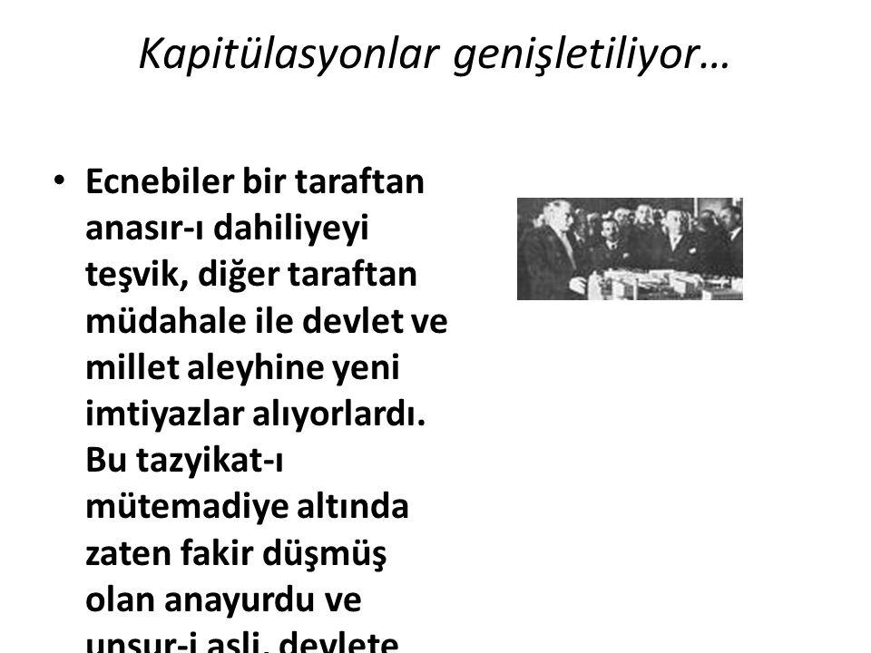Mustafa Kemal Atatürk Milli Mücadele döneminde bağımsızlıktan söz ettiği her bildiride ekonomik bağımsızlıktan ve Türk milletinin insanca yaşayabilmesi için ekonomik ihtiyaçlarının karşılanmasından bahsetmiştir.