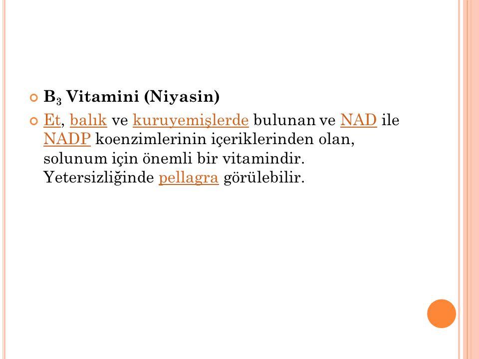 . B2 vitamini eksikliği'nde protein oluşması azalır ve deride yaralar, sinirsel bozukluklar ve göz bozuklukları (Gözlerde yanma ve bulanıklık, parlak