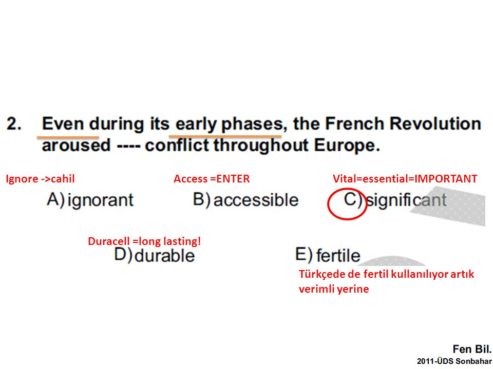 =Because =While Discovery -> increase (mantıklı olurdu) ama yukarıda Increase ->discovery…ters mantık