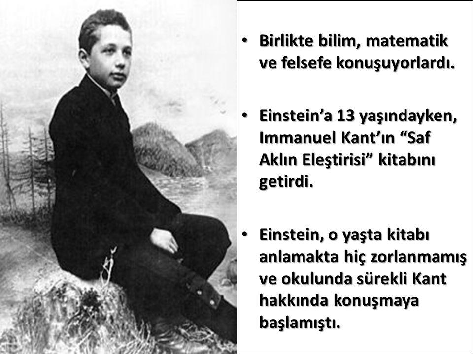 Öklid geometrisini 12 yaşındayken elde ettiği ders kitabından kavramıştır ve bu kitaptaki problemler üzerinde çalışmaya başladı.