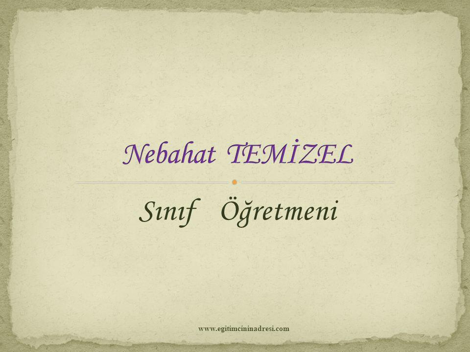 Sınıf Öğretmeni www.egitimcininadresi.com