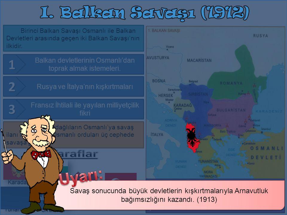 Birinci Balkan Savaşı Osmanlı ile Balkan Devletleri arasında geçen iki Balkan Savaşı'nın ilkidir.