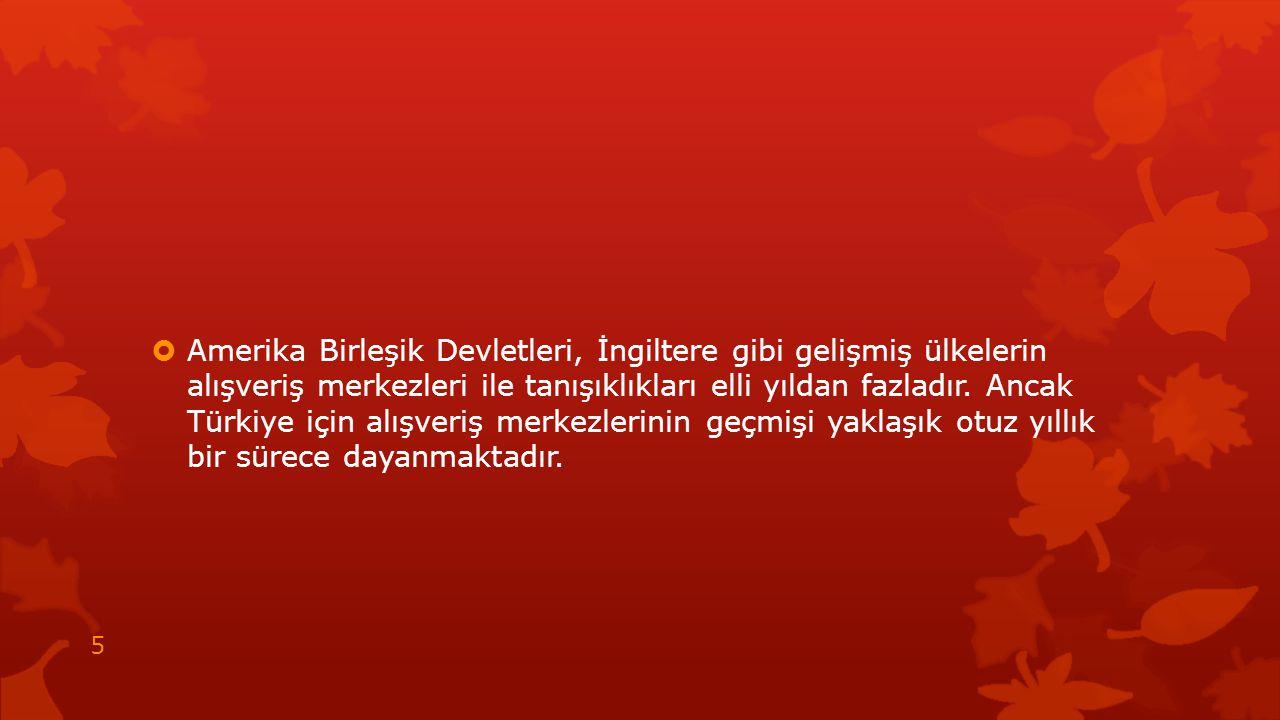  Şehir plancısı Erhan Demirdizen '' tarihi kent merkezleri, AVM lerin bu özellikleri karşısında direnemiyor.