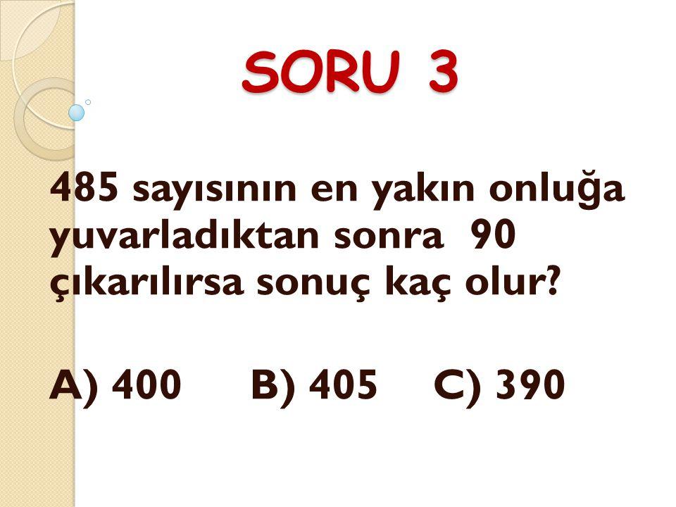 CEVAP 2 A) 666