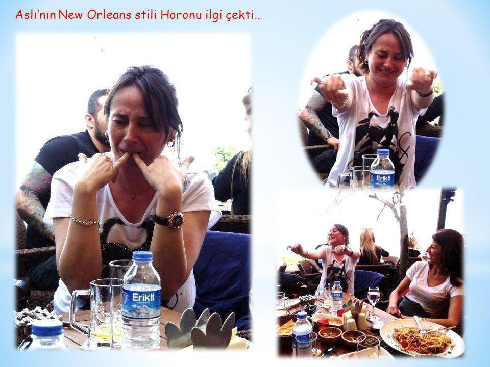 Aslı'nın New Orleans stili Horonu ilgi çekti…