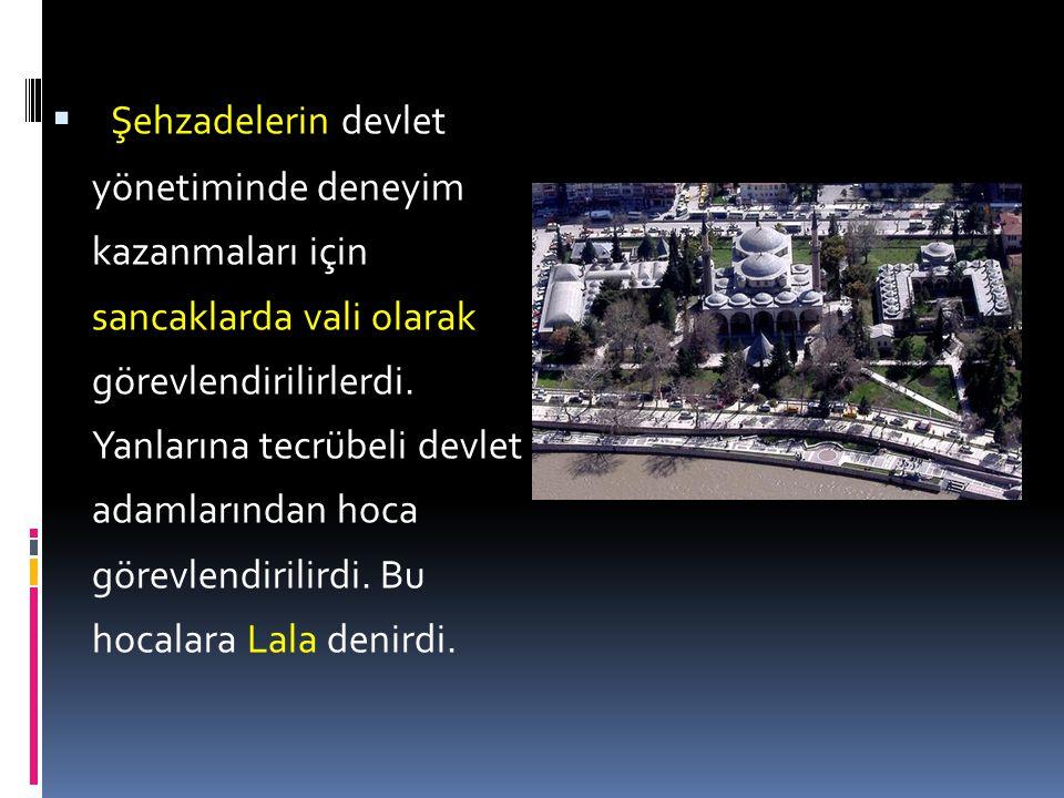  31. Osmanlı Devleti yönetiminde, belli dönemlerde geçerli olmuş ilkelerden bazıları şunlardır:  Ülke hanedan üyelerinin ortak malıdır.  Devlet yön