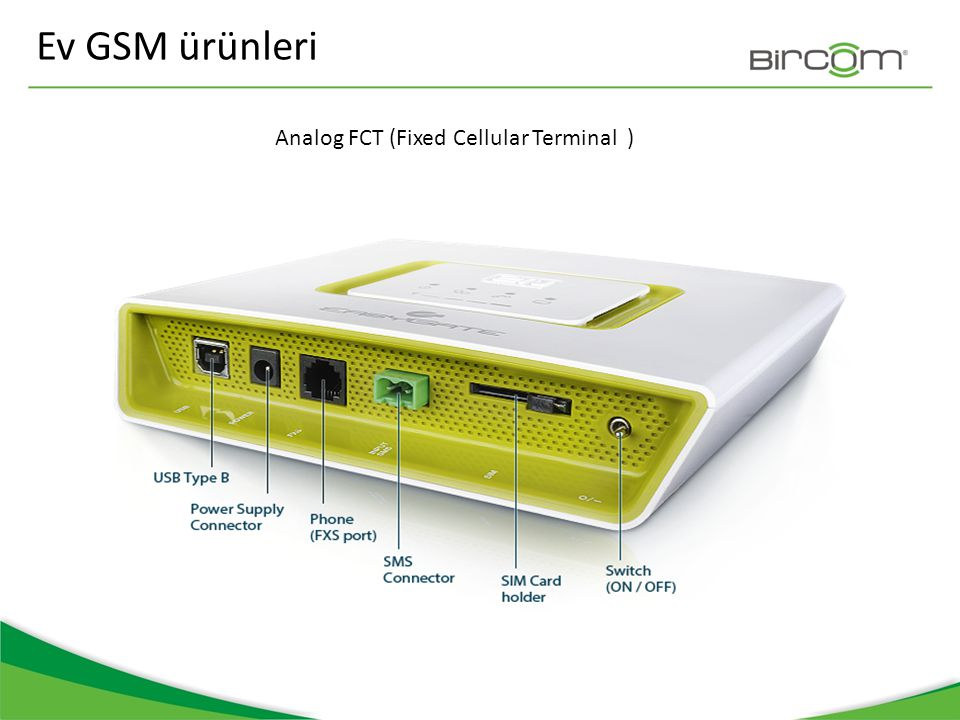 Santral GSM ürünleri / ISDN&Voip/ BRI Lite /Uygulama