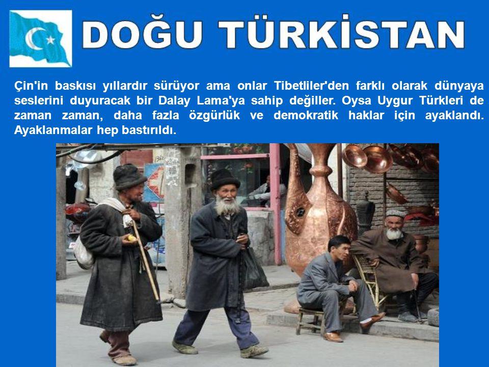 Dünyanın bir ucunda yaşayan Türkler onlar. Toplam sayıları 8.5 milyon civarında. Ama haklarında fazla bir şey öğrenilemiyor. Çünkü yaşadıkları toprakl
