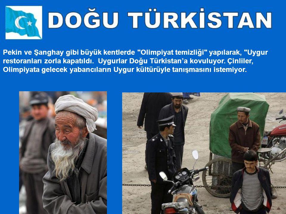 Kanlı olaylar yaşandı ama dünyanın bundan haberi olmadı. Çünkü Uygur Türkleri'nin yaşadıkları Sincan Uygur Bölgesi ve özellikle Doğu Türkistan'a, olay