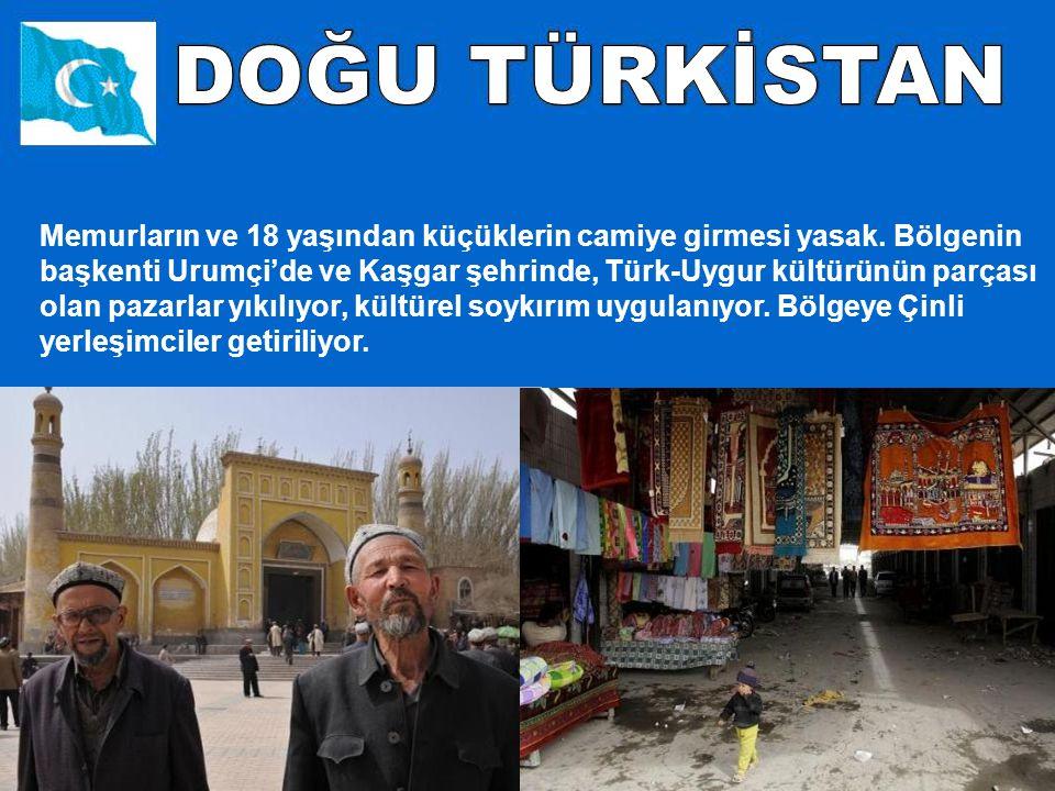 Pekin ve Şanghay gibi büyük kentlerde Olimpiyat temizliği yapılarak, Uygur restoranları zorla kapatıldı.