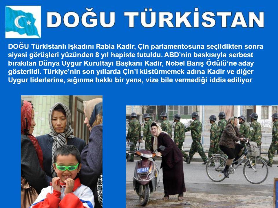 Memurların ve 18 yaşından küçüklerin camiye girmesi yasak. Bölgenin başkenti Urumçi'de ve Kaşgar şehrinde, Türk-Uygur kültürünün parçası olan pazarlar
