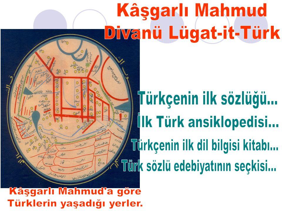 Divanü Lügat-it-Türk'te yaklaşık 8.500 sözcük var…