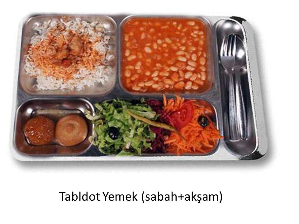 Tabldot Yemek (sabah+akşam)