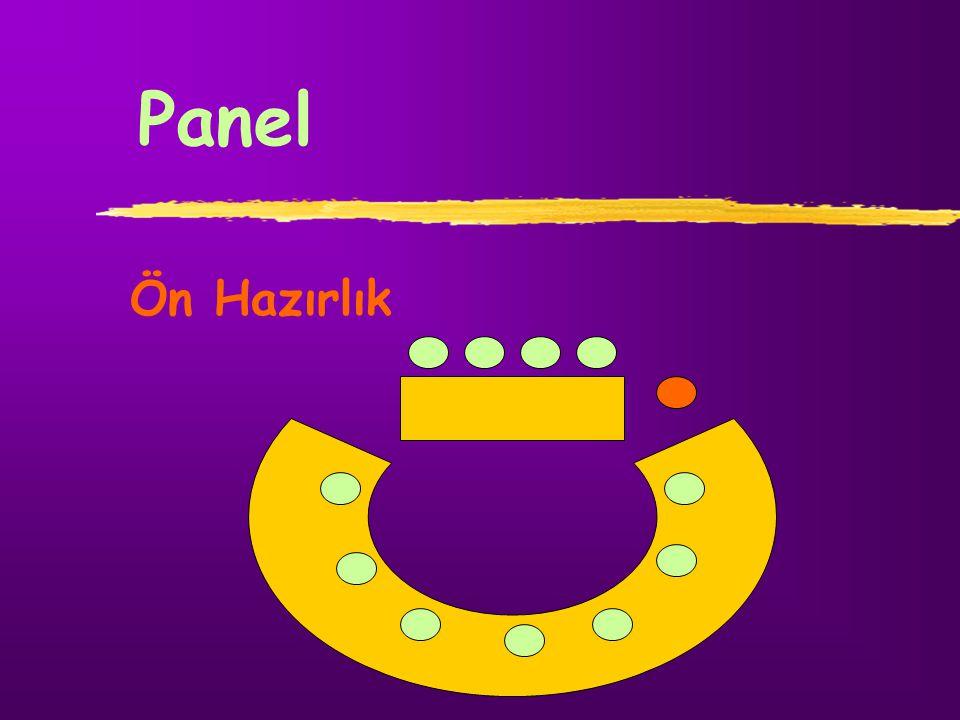 Panel Ön Hazırlık