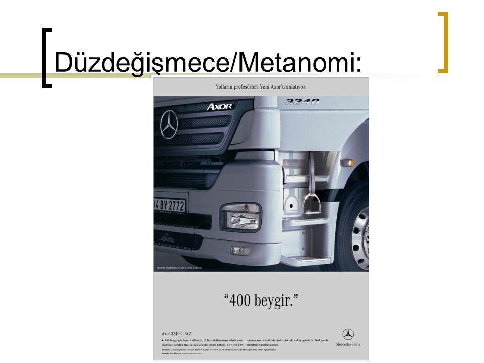 Düzdeğişmece/Metanomi: